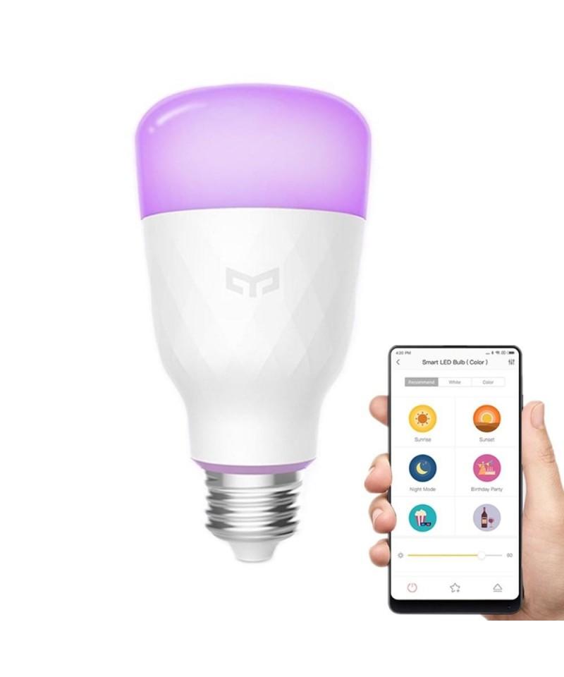Xiaomi Mi Yeelight RGB 10W LED Sans Fil WIFI Contrôle E27