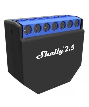 Shelly 2.5 Double relais...